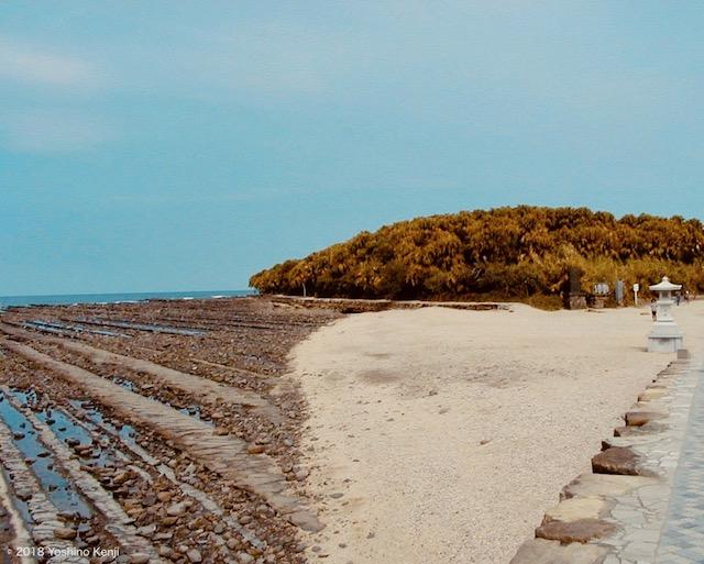 青島鬼の洗濯岩