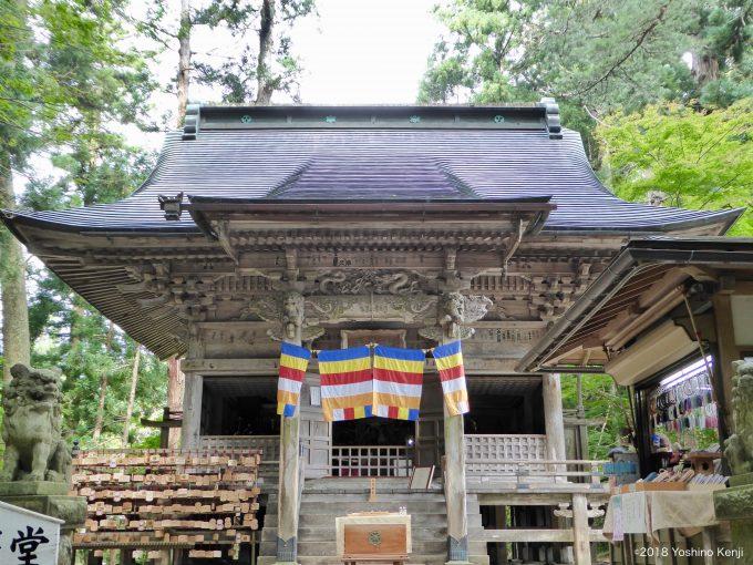 中尊寺の弁慶堂