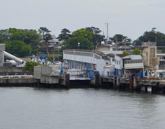 和歌山港に到着