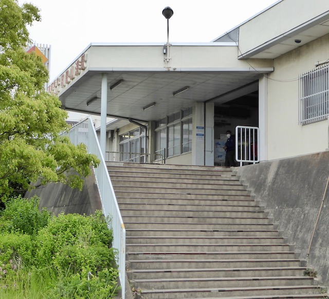 南海電鉄の和歌山港駅