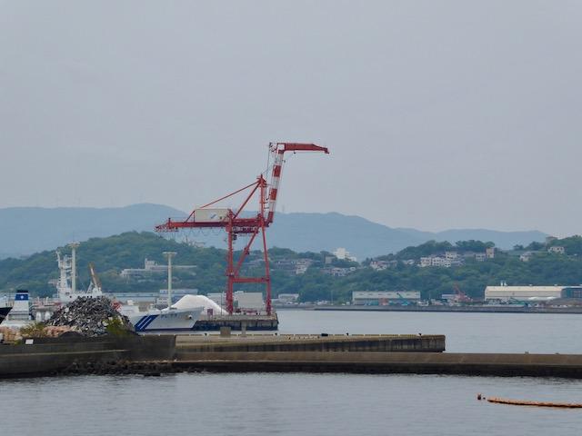 和歌山港のクレーン