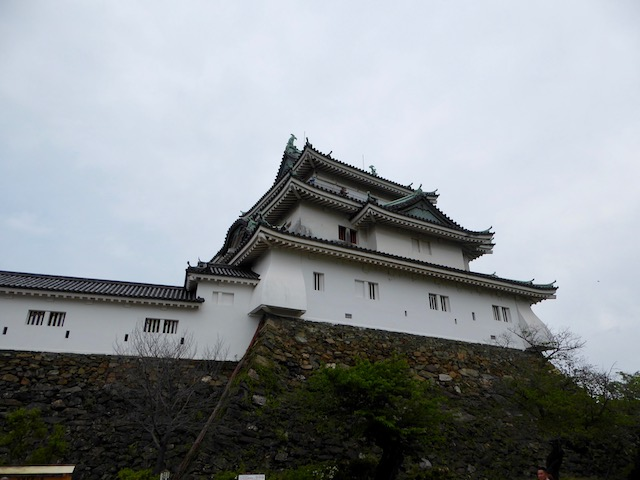 和歌山城の天守閣