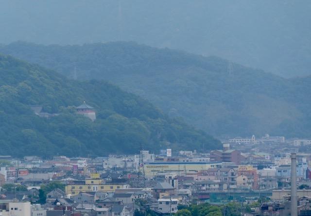 和歌山城の南に紀三井寺