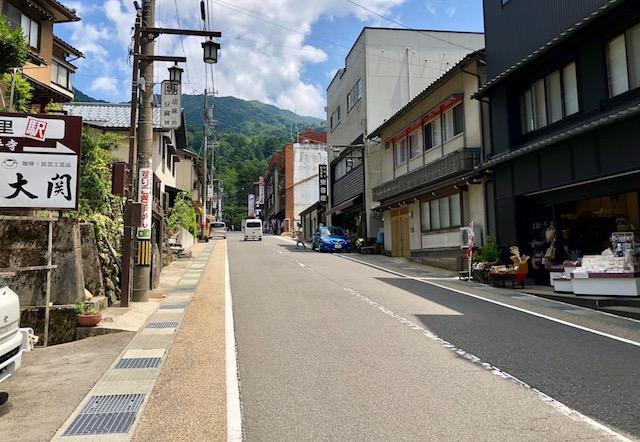 永平寺の参道