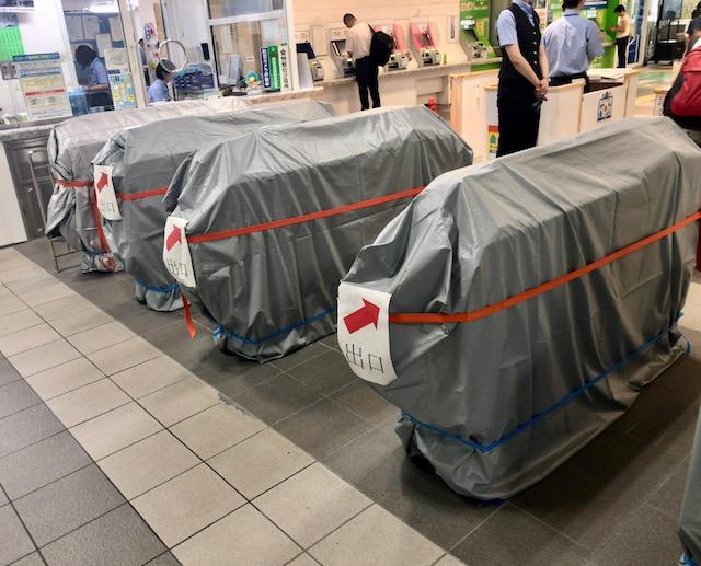 JR福井駅にもうすぐICOCAと自動改札が導入される準備