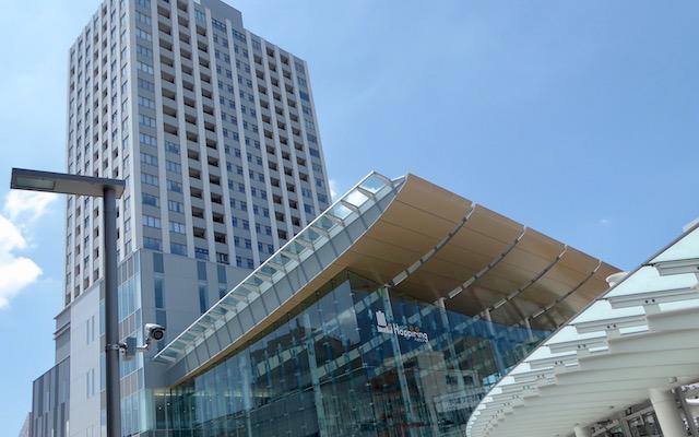 福井駅前のハピリン