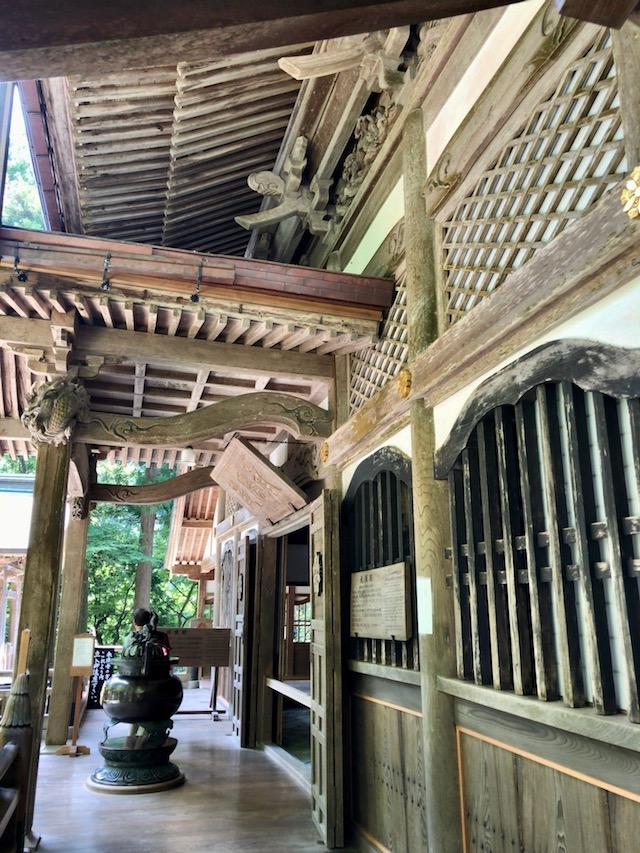 永平寺の法堂から脇に入ると、承陽殿
