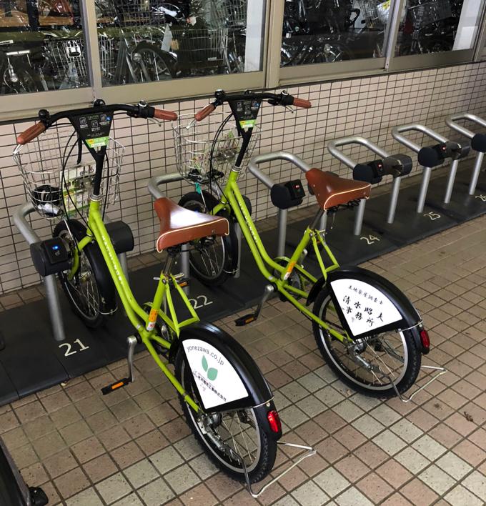 金沢のまちのりのサイクルポート