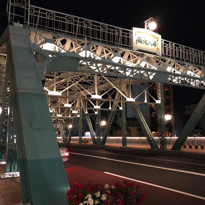 金沢の犀川大橋南詰