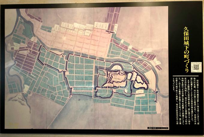 久保田城の説明
