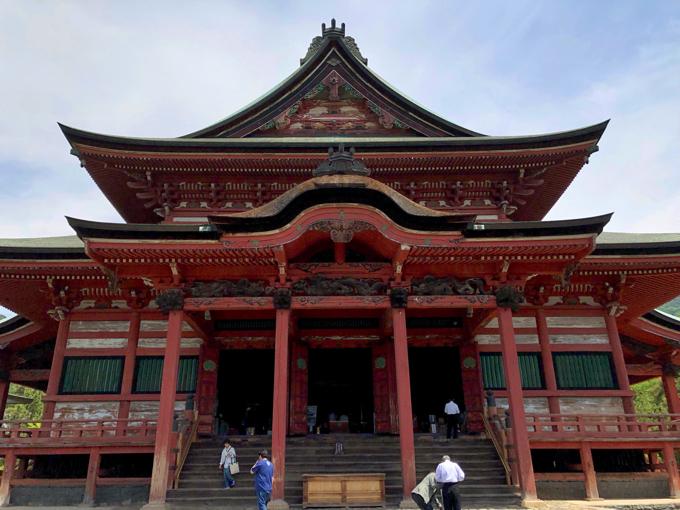 甲斐善光寺の金堂