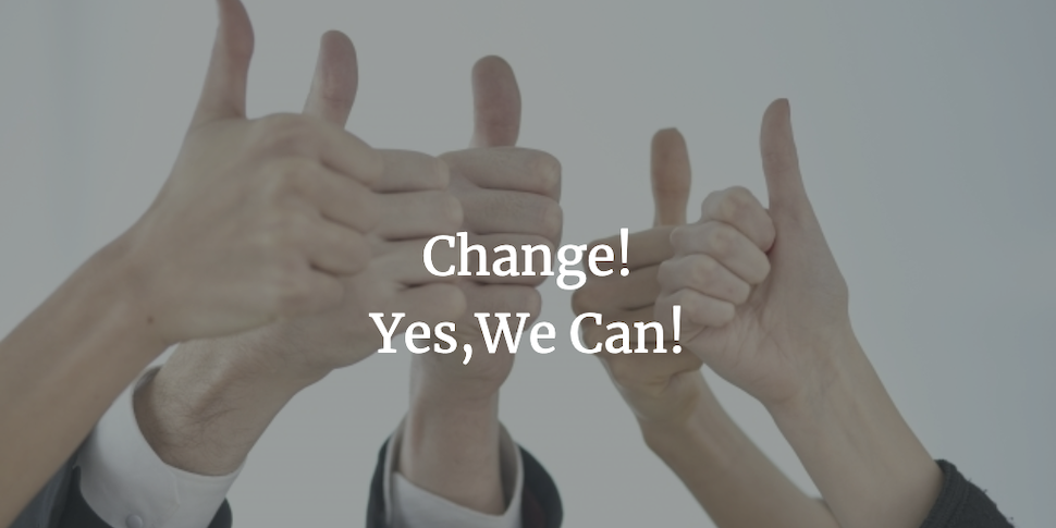 Change!Yes We Can