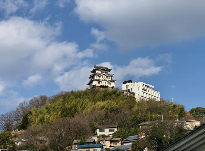 「尾道城」は今だけ